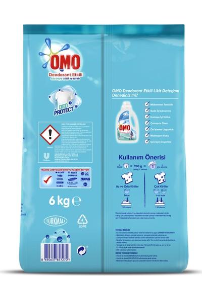 Omo Toz Deterjan Deodorant Etkili 6 kg