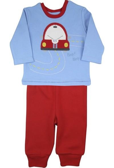 Baby Corner Pijama Takım Kırmızı Araba