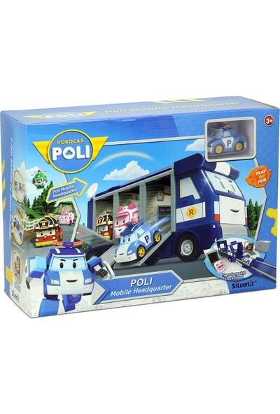 Robocar Poli Ana Merkez Mobil Araç Oyun Seti