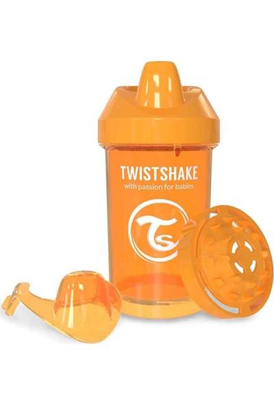 TwistShake Crawler Cup Suluk - Turuncu - 300 ml