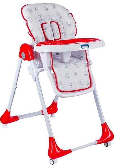 Maller Baby Mondy Mama Sandalyesi - Kırmızı