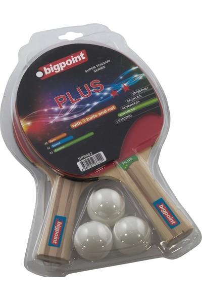 Bigpoint Masa Tenisi Raket Seti (2 Raket+File+3 Top) - 2*