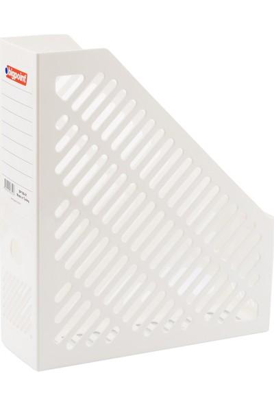 Bigpoint Plastik Kutu Klasör Beyaz