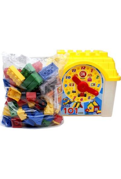 OK Eğitici Jumbo Blok 101 Parça (Kutulu)
