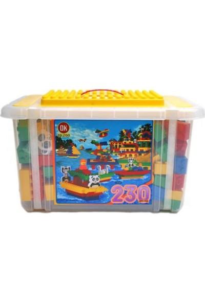 OK Eğitici Jumbo Blok 230 Parça (Kutulu)
