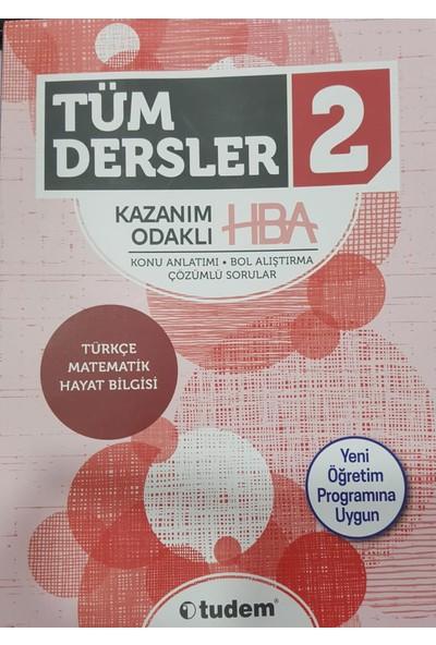 Tudem Yayınları 2.Sınıf Tüm Dersler Kazanım Odaklı Hepsi Bir Arada Yeni 2019 Müfredat
