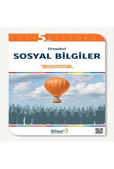 Biltest Yayıncılık 5.Sınıf Sosyal Bilgiler Soru Bankası