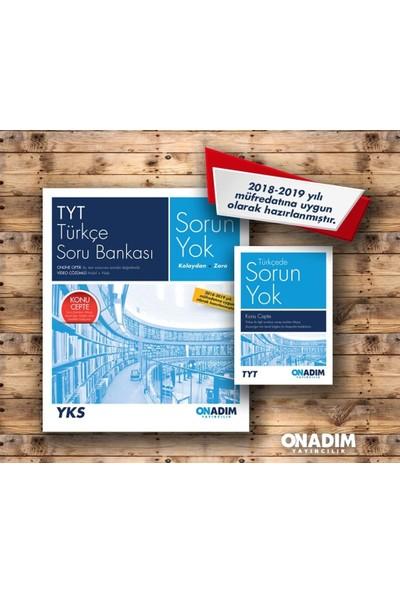 On Adım Yayınları Tyt Türkçe Sorun Yok Soru Bankası Yeni 2019