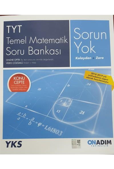 On Adım Yayınları Tyt Temel Matematik Sorun Yok Soru Bankası Yeni 2019 Müfredat