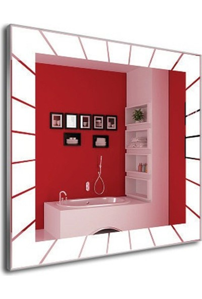 Dibanyo Ledli Ayna - Sensörlü 70 x 70 cm