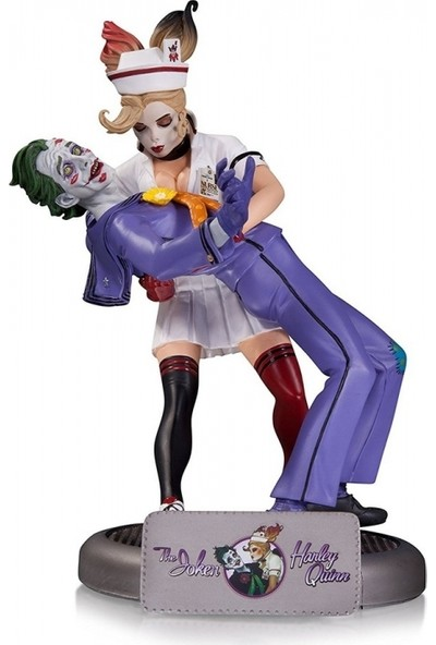 DC Collectibles Bombshells: The Joker & Harley Quinn Second Edition Statue