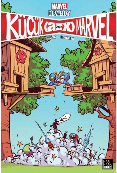 Küçük Marvel - Dev-Boy Türkçe Çizgi Roman