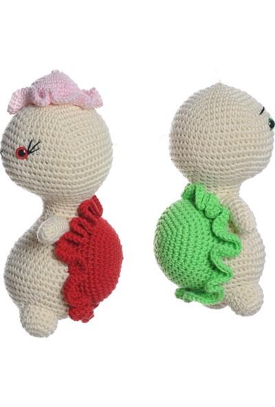 Dfnbaby Amigurumi Organik El Örmesi Kaplumbağa Çifti