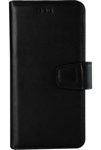 Book Case Samsung Galaxy S9 Plus Deri Classic Fario Siyah Cüzdanlı Kılıf