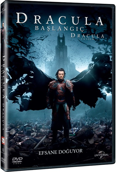 Dracula Untold Dvd - Dracula Başlangıç Dvd