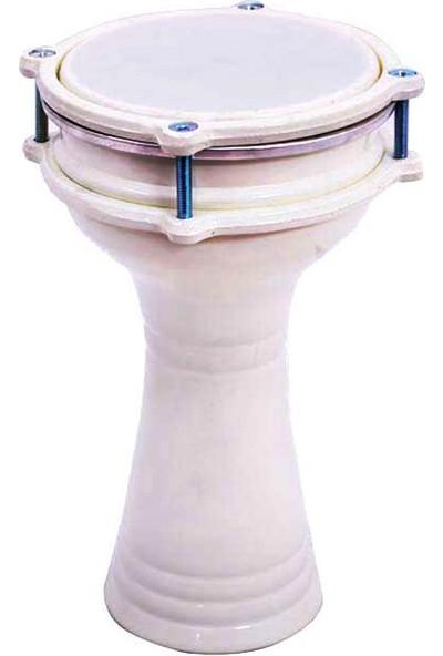Esster Darbuka Alüminyum Beyaz DA17WH