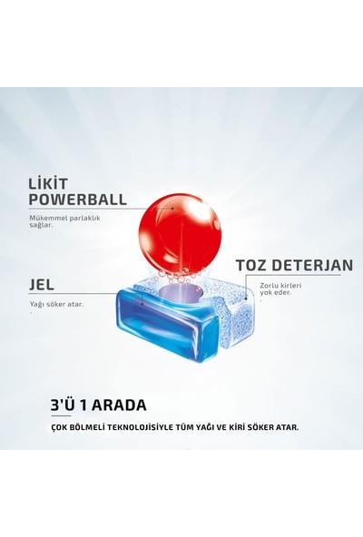 Finish Quantum 80 Tablet Bulaşık Makinesi Deterjanı (40X2) + Parlatıcı 3x400 ml