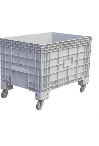 Arı Metal 7487 Plastik Tekerlekli Kasa