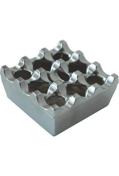 Arı Metal 7314 Masa Üstü Krom Küllük 8X8X4 Cm