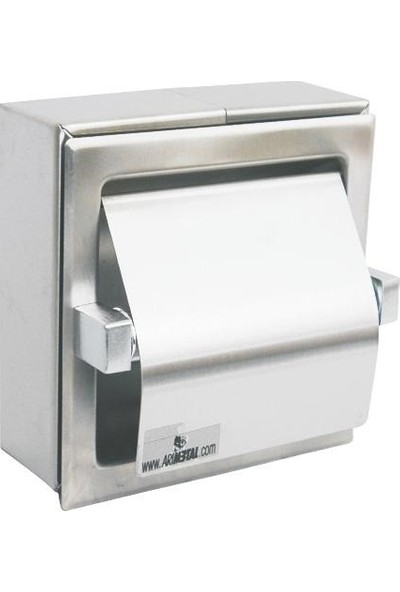 Arı Metal 7132 Wc Kağıtlık Tekli Mat Pasl.Kapaklı