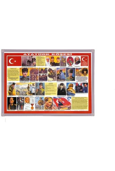 Aymi 70X100 Alüminyum Çerçeve Atatürk Köşesi