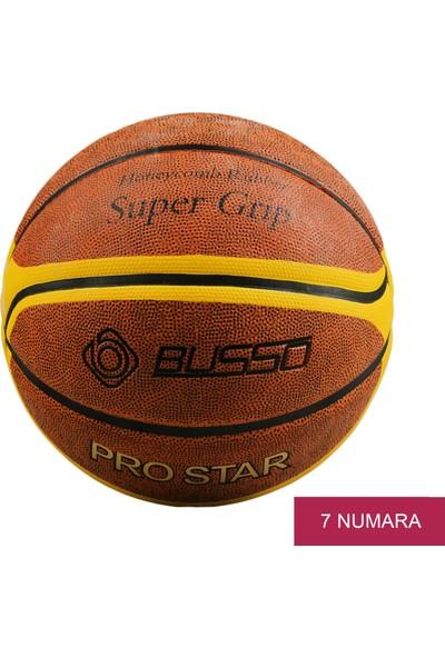 Busso Kahverengi Basketbol Topu Pro Star Basketbol Brown