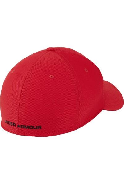 Under Armour Erkek Kırmızı Şapka 1305036-600 Mens Blitzing 3.0 Cap