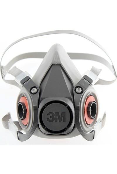 3M Yarım Yüz Maskesi Orta Boy 3M 6200
