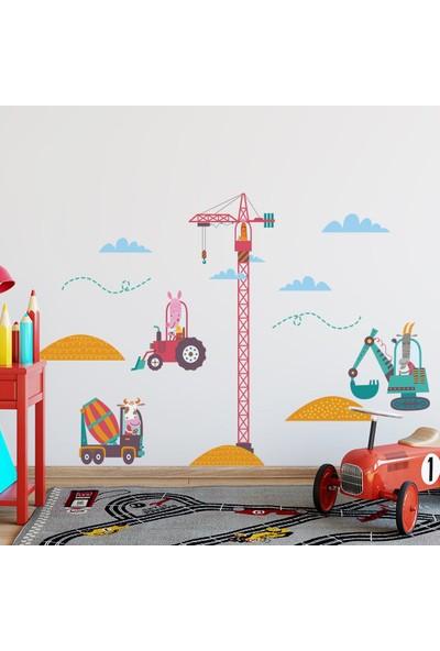 DekorLoft Şantiye Çocuk Odası Duvar Sticker CS-275