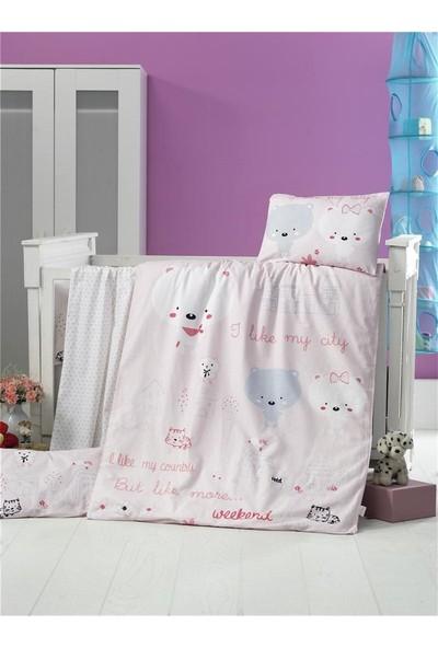 Komfort Home Bebek Uyku Seti %100 Pamuk (Yorgan Ve +2 Yastıklı)