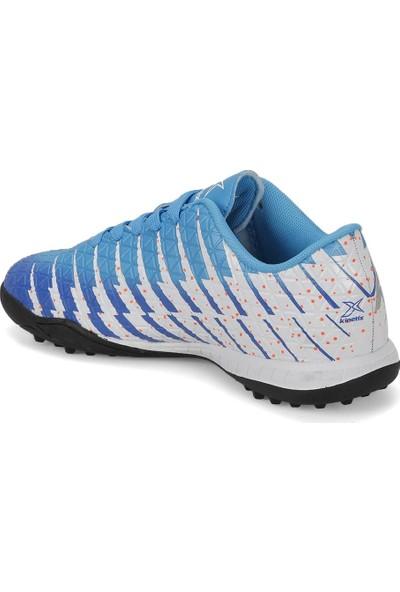 Kinetix Castro Turf Mavi Saks Neon Turuncu Erkek Halı Saha Ayakkabısı
