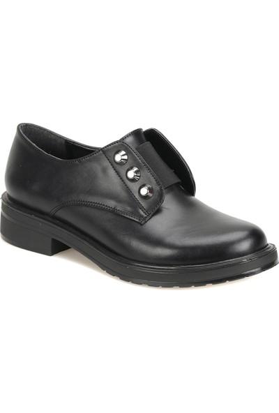 Butigo 18K-025 Siyah Kadın Maskulen Ayakkabı