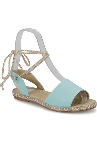 Butigo Barba*68Z Açık Mavi Kadın Sandalet