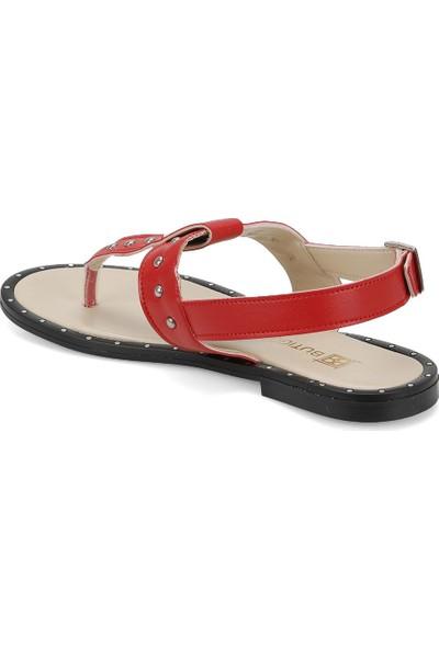 Butigo Zerda33Z Kırmızı Kadın Sandalet