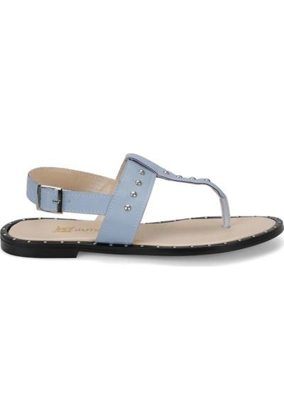 Butigo Zerda67Z Mavi Kadın Sandalet