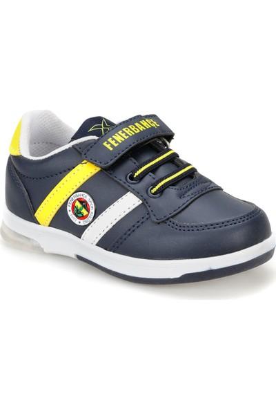 Fb Upton Pu Fb Lacivert Beyaz Sarı Erkek Çocuk Sneaker Ayakkabı
