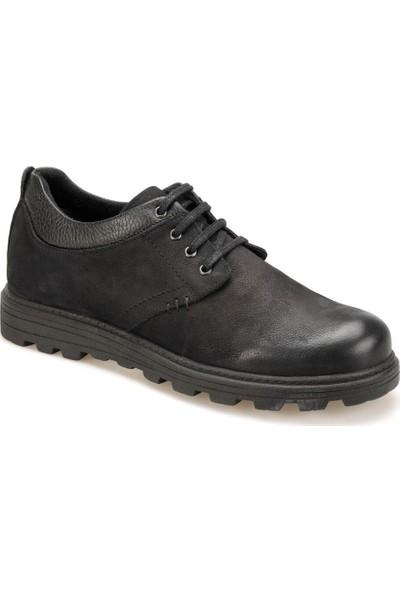 Forester 350 Siyah Erkek Deri Ayakkabı
