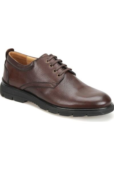 Garamond 60960-1 Kahverengi Erkek Deri Ayakkabı