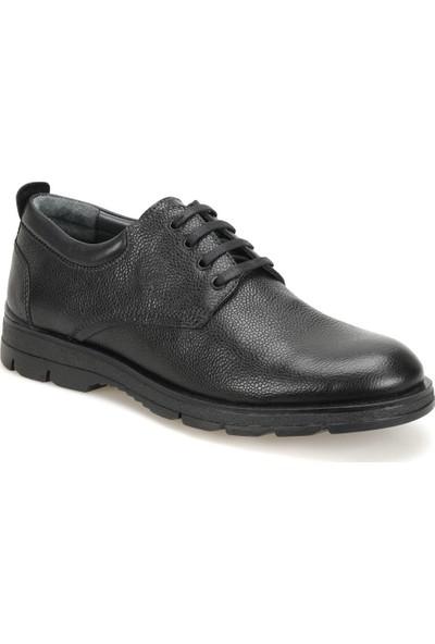 Garamond 60960-1 Siyah Erkek Deri Ayakkabı