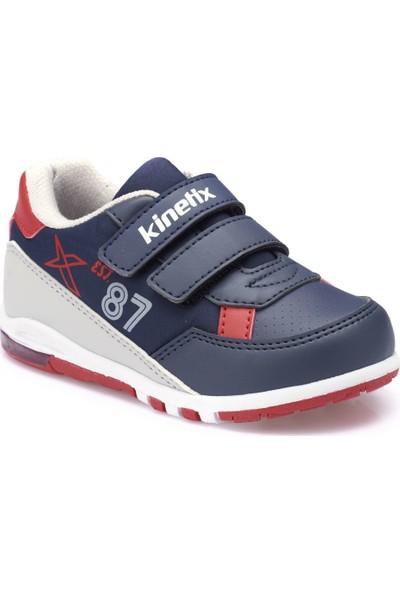 Kinetix Melsi Lacivert Gri Erkek Çocuk Sneaker Ayakkabı