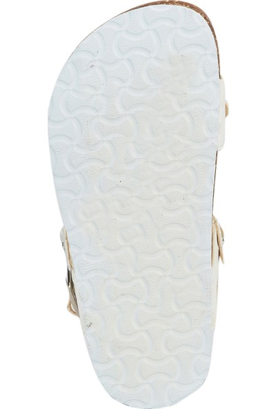Pink Step Naklow Beyaz Kız Çocuk Sandalet