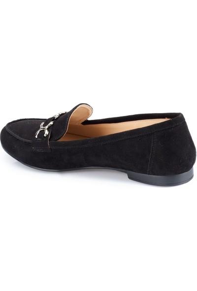 Polaris 82.312018Sz Siyah Kadın Loafer Ayakkabı