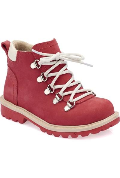 Polaris 82.509544.P Kırmızı Kız Çocuk Deri Sneaker Ayakkabı