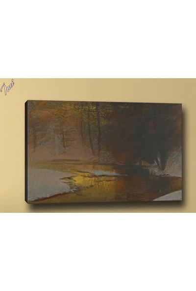 Caddeko Yb38 Manzara Yağlı Boya Görünümlü Kanvas Tablo 70 x 100 cm