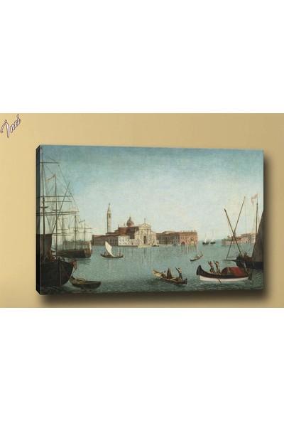 Caddeko Yb131Yağlı Liman Boya Kanvas Tablo 70 x 100 cm