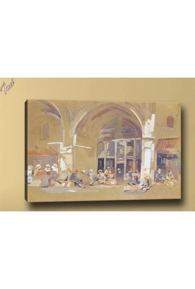 Caddeko Yb275 Osmanlı Yağlı Boya Görünümlü Kanvas Tablo 70 x 100 cm