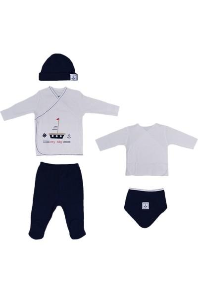 İdil Baby 9992 5'li Bebek Hastane Çıkış Seti