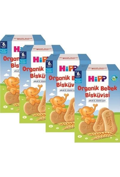 Hipp Organik Bebek Bisküvisi 150 gr 6+ Ay x 4 Adet