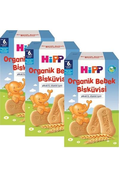 Hipp Organik Bebek Bisküvisi 150 gr 6+ Ay x 3 Adet