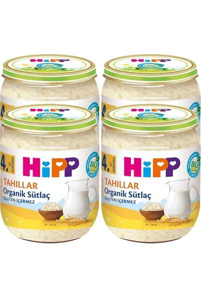 Hipp Organik Sütlaç 125 gr 4+ Ay x 4 Adet